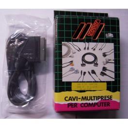 CAVO MONITOR SCART ATARI ST