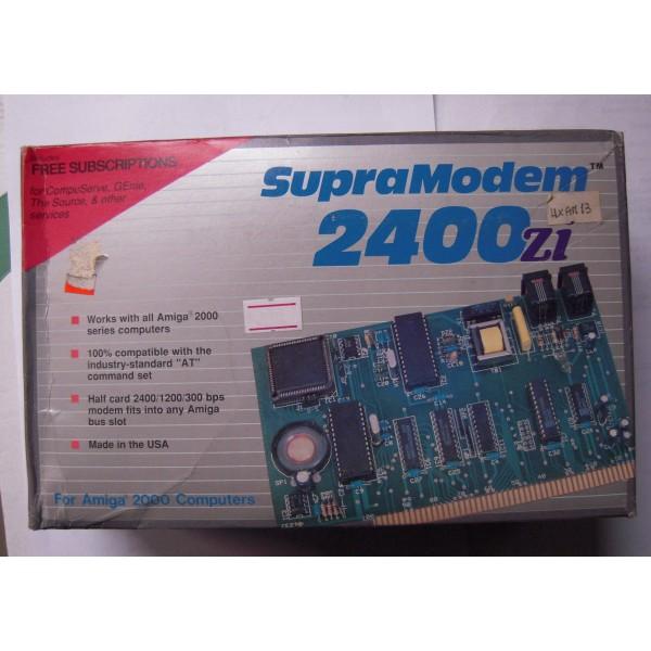 SUPRA MODEM 2400 Zi X A2000 - AGAS